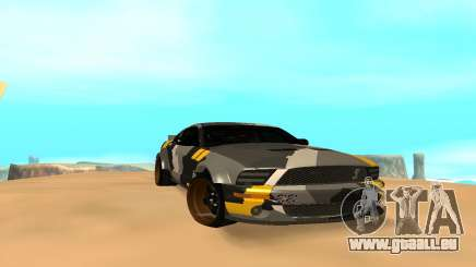 Ford Mustang Evil Empire 2016 pour GTA San Andreas