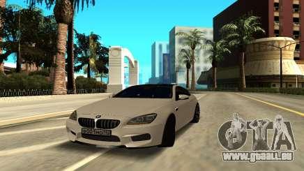 BMW M6 Gran Coupe pour GTA San Andreas