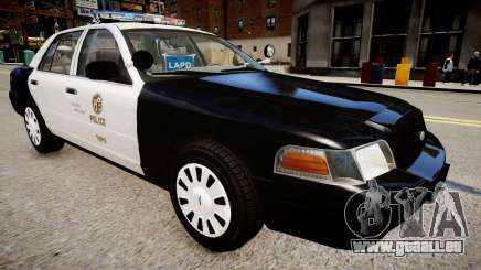 Ford Crown Victoria LAPD pour GTA 4