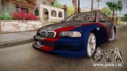 NFS: MW - BMW M3 GTR (E46) Hidden Vinyl Version pour GTA San Andreas