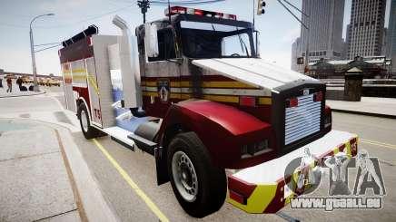 Nouveau camion d'incendie T5 pour GTA 4