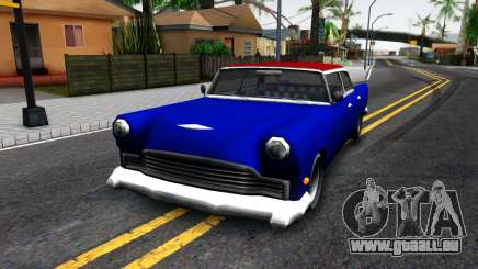 New car in style SA für GTA San Andreas