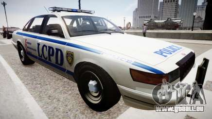 Police Cruiser [ELS] pour GTA 4