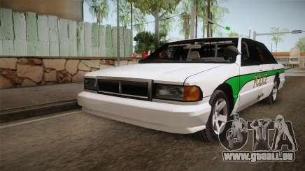 Declasse Premier 1993 Angel Pine Police pour GTA San Andreas