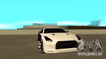 Nissan GTR für GTA San Andreas