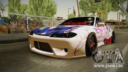 Nissan Silvia S15 Rocket Bunny Itasha pour GTA San Andreas