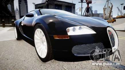 Bugatti Veyron 16.4 2009 v.2 für GTA 4