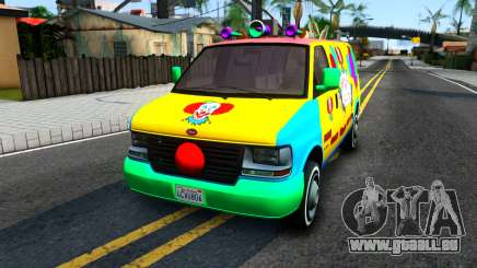GTA V Vapid Clown Van pour GTA San Andreas