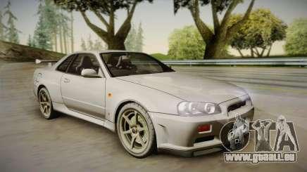 Nissan Skyline Tunable Pro Street pour GTA San Andreas