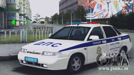 VAZ 2110 DE LA CIRCULATION pour GTA San Andreas