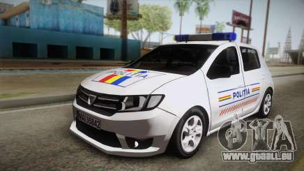 Dacia Sandero 2016 Romanian Police für GTA San Andreas