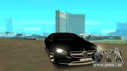 Mercedes-Benz C-Class Coupe 2016 für GTA San Andreas
