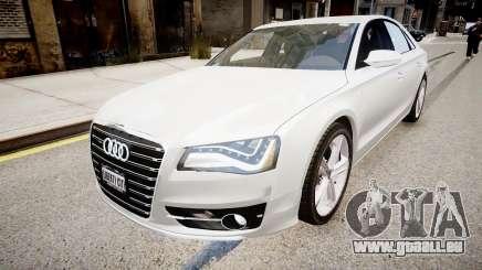 Audi S8 2013 für GTA 4