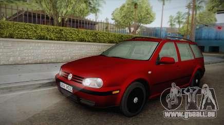 Volkswagen Golf 4 Variant 1.8 T pour GTA San Andreas