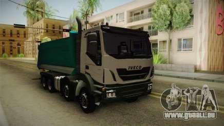 Iveco Trakker Hi-Land Dumper 8x4 v3.0 pour GTA San Andreas