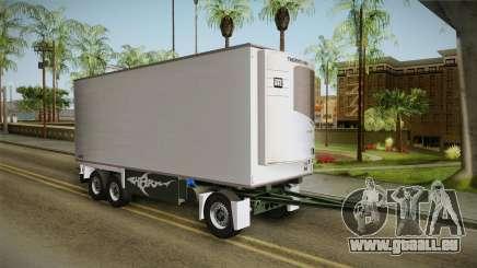 Iveco Eurotech 400E34 Tandem v2.0 Trailer für GTA San Andreas