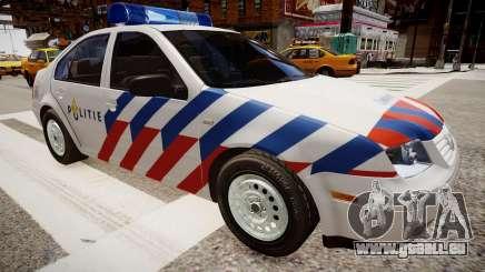Volkswagen bora police für GTA 4