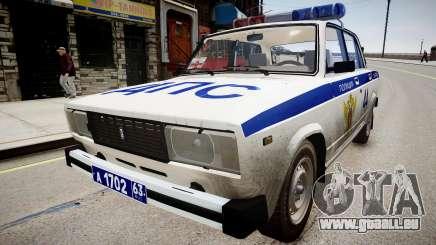 VAZ 2105 Polizei für GTA 4