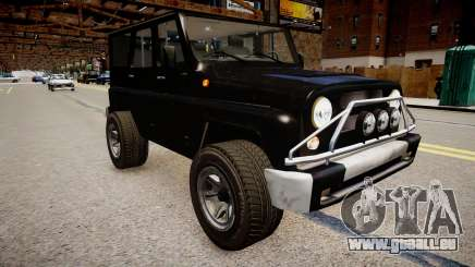UAZ Hunter Beta für GTA 4