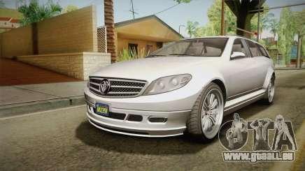 GTA 5 Benefactor Schafter Wagon für GTA San Andreas