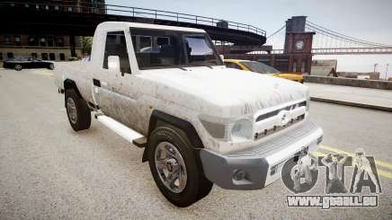 Toyota Land Cruiser Pick-Up 79 2012 v1.0 für GTA 4