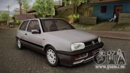 Volkswagen Golf Mk3 Stock pour GTA San Andreas