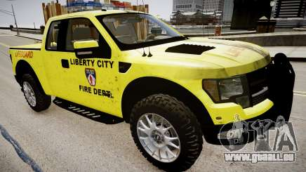 Ford Raptor SVT Department Lifeguard pour GTA 4