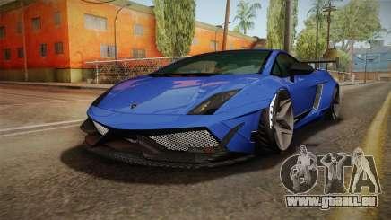 Lamborghini Gallardo Superleggera pour GTA San Andreas