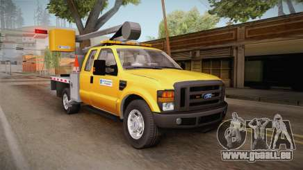 Ford F-350 2008 Cherry Picker für GTA San Andreas