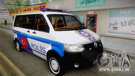 Volkswagen Transporter Turkish Police pour GTA San Andreas