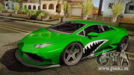 Lamborghini Huracan Liberty Walk pour GTA San Andreas