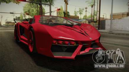 GTA 5 Pegassi Lampo Roadster für GTA San Andreas