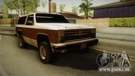 Chevrolet Blazer K5 Rancher Style für GTA San Andreas