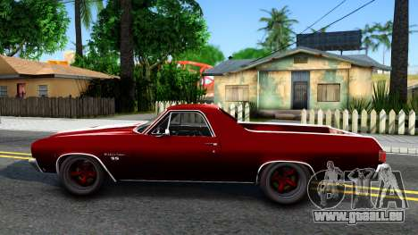 Chevrolet El Camino SS für GTA San Andreas linke Ansicht