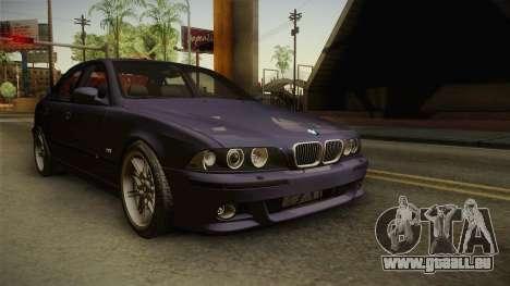 BMW M5 E39 Stock 2001 für GTA San Andreas rechten Ansicht