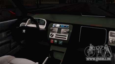 Peugeot 106 GTI für GTA San Andreas Innenansicht