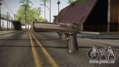 Desert Eagle 50 AE Silver für GTA San Andreas