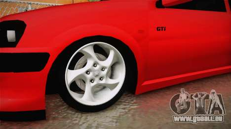 Peugeot 106 GTI für GTA San Andreas Rückansicht