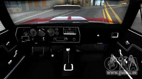 Chevrolet El Camino SS für GTA San Andreas Innenansicht