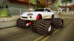 Toyota Supra Monster Truck pour GTA San Andreas