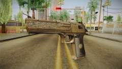Desert Eagle 50 AE Gold