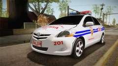 Toyota Vios Philippine Police