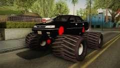 Subaru Legacy 1992 Monster Truck pour GTA San Andreas