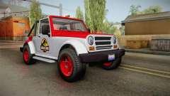 GTA 5 Canis Mesa Jurassic Park IVF für GTA San Andreas