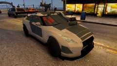 Nissan GTR Armored White 2017 pour GTA 4