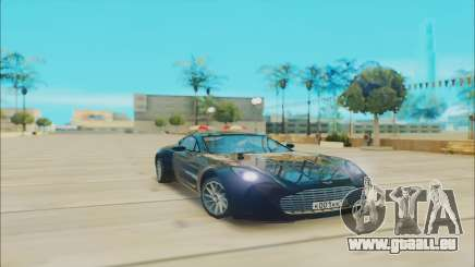 Aston Martin One 77 pour GTA San Andreas