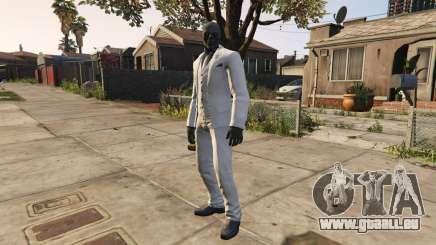 BAK Black Mask pour GTA 5