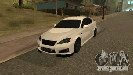 Lexus IS F Armenian pour GTA San Andreas