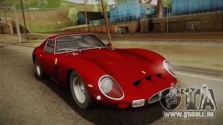 Ferrari 250 GTO (Series I) 1962 HQLM PJ1 für GTA San Andreas