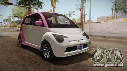 GTA 5 Benefactor Panto 4-doors IVF pour GTA San Andreas